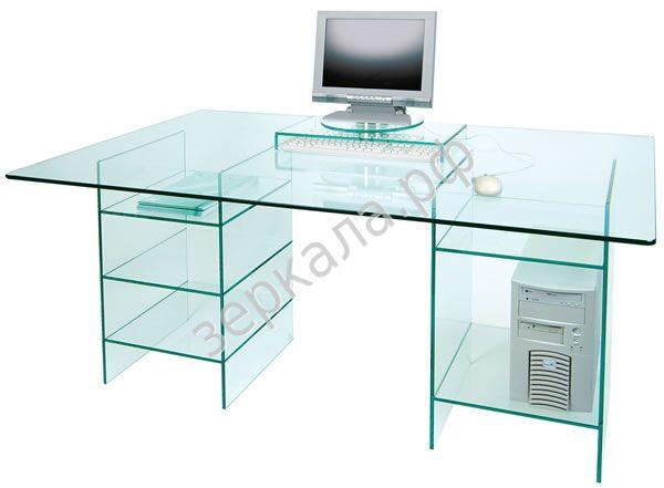 Стеклянные компьютерные столы своими руками